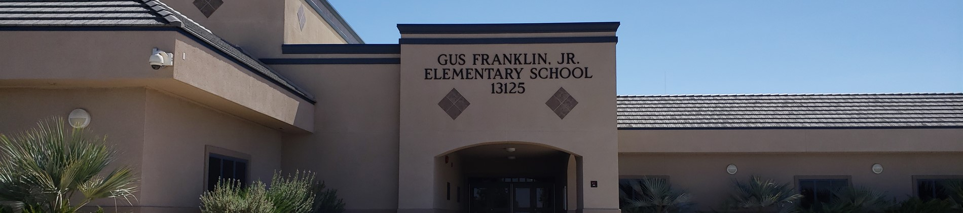 Gus Franklin, Jr. Elementary Entrance